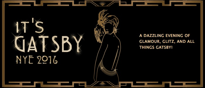 It's Gatsby - New Year's Eve 2016
