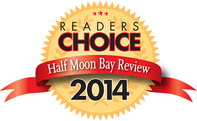 Half Moon Bay Reader's Choice Badge