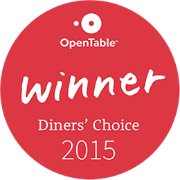 Open Table Diner's Choice Badge